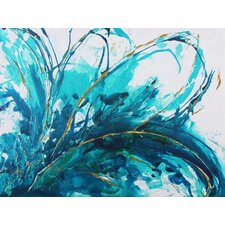 Abstract Floral by Caroline Ashwood Wall Art