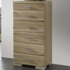 Java 6 Drawer Chest