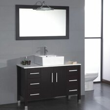 "Magnolia 47"" Single Bathroom Vanity Set"