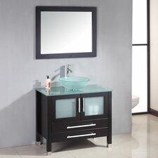 """Amethyst 35"""" Bathroom Vanity Set with Single Sink"""