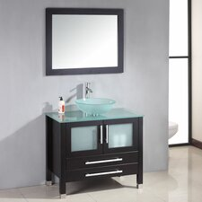 "<strong>Cambridge Plumbing</strong> Amethyst 35"" Single Bathroom Vanity Set"