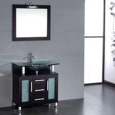 "Topaz 34"" Single Bathroom Vanity Set"