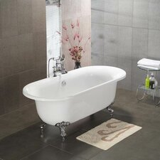 "<strong>Cambridge Plumbing</strong> 70"" x 31"" Dual Ended Claw Foot Bathtub"