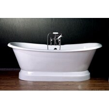 "66"" x 31"" Dual Slipper Tub"