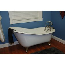 "<strong>Cambridge Plumbing</strong> 67.25"" x 22.25"" Baron Slipper Tub"