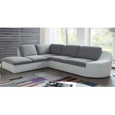 "3-er Sofa ""Shine"" mit Longchair und Bettfunktion"
