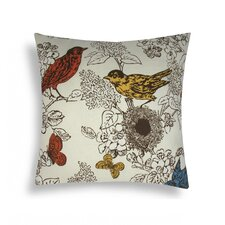 Perch Cotton Decorative Pillow