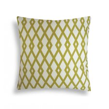 <strong>Domusworks</strong> Graphic Fret Cotton Decorative Pillow