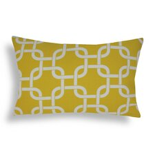 Link Cotton Lumbar Decorative Pillow