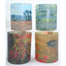 Monet Tealight Holder 4 Piece Set