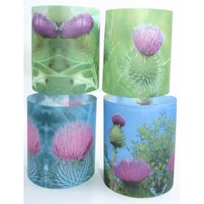 Thistles Tealight Holder 4 Piece Set