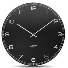 "<strong>Leff Amsterdam</strong> One45 17.7"" Glass Wall Clock"
