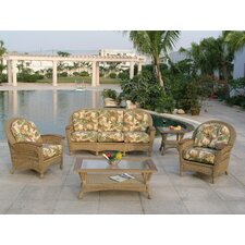 <strong>Spice Islands Wicker</strong> Barbados Lounge Seating Group with Cushion