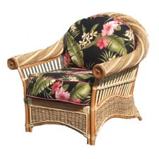 <strong>Spice Islands Wicker</strong> Maui Twist Arm Chair