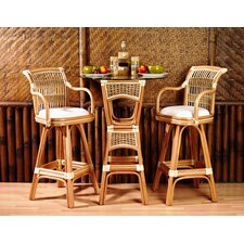 <strong>Spice Islands Wicker</strong> Pub Table with Optional Stools