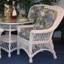 <strong>Spice Islands Wicker</strong> Bar Harbor Arm Chair