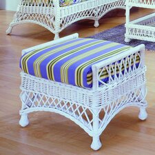 <strong>Spice Islands Wicker</strong> Bar Harbor Ottoman