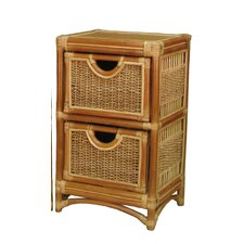 <strong>Spice Islands Wicker</strong> 2 Drawer Unit