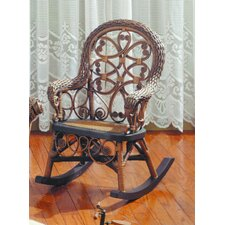 <strong>Yesteryear Wicker</strong> Victorian Child's Rocking Chair