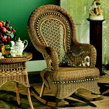 <strong>Yesteryear Wicker</strong> Country Brownwash Rocking Chair