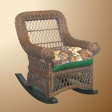 Child's Rocker with Cushion