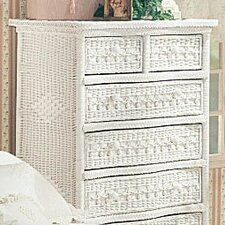 <strong>Yesteryear Wicker</strong> Classic 5 Drawer Dresser