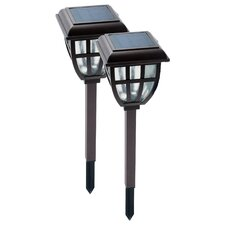 Lifetime Series Solar Garden Lantern (Set of 2)