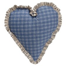 <strong>Provence Home Collection</strong> Hampton Classic Heart Pillow