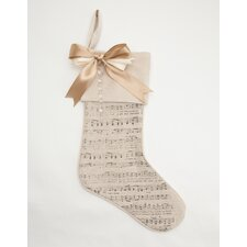 Sheet Music Stocking