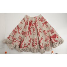 Bird Toile Tree Skirt