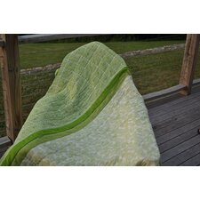 Green Paisley Throw