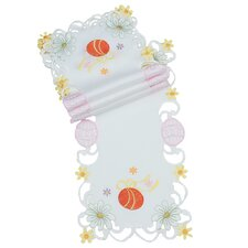 Country Egg Embroidered Cutwork Traycloth (Set of 4)