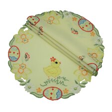 Spring Baby Chicks Round Doily (Set of 4)