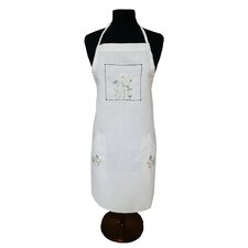 Spring Field Embroidered Cutwork Apron