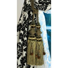 <strong>Xia Home Fashions</strong> Double Tassel Curtain Tieback