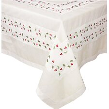 <strong>Xia Home Fashions</strong> Classic Holly Table Cloth