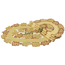 <strong>Xia Home Fashions</strong> Bountiful Leaf Placemat