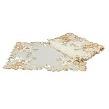 Autumn Forest Cutwork Embroidered Placemat (Set of 4)
