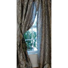 Metro Rod Pocket Lined Curtain Panel