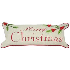 <strong>Xia Home Fashions</strong> Holiday Christmas with Holly Pillow