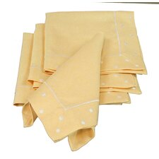 Polka Dot Embroidered Easy Care Napkin (Set of 4)