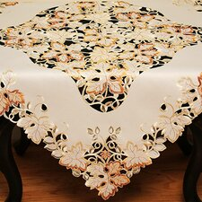 Autumn Forest Cutwork Embroidered Table Topper