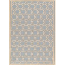 <strong>Pasargad</strong> Sahara Light Blue/Ivory Rug