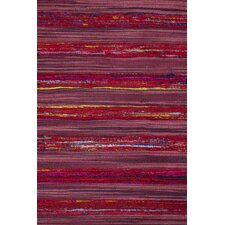 Sari Silk Red Rug