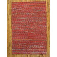 Sari Silk Red/Multi Rug
