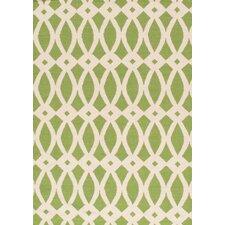 Sahara Ivory/Green Rug