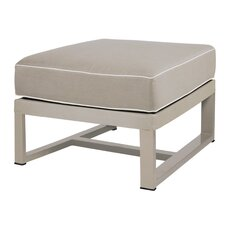 Allux Ottoman with Cushion