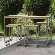 <strong>Mamagreen</strong> Oko 5 Piece High Dining Set