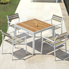 <strong>Mamagreen</strong> Allux 5 Piece Dining Set