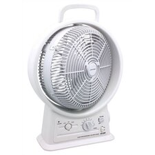 "12"" Oscillating Floor Fan"